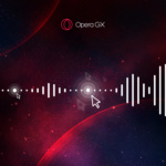 Opera GX now with background music