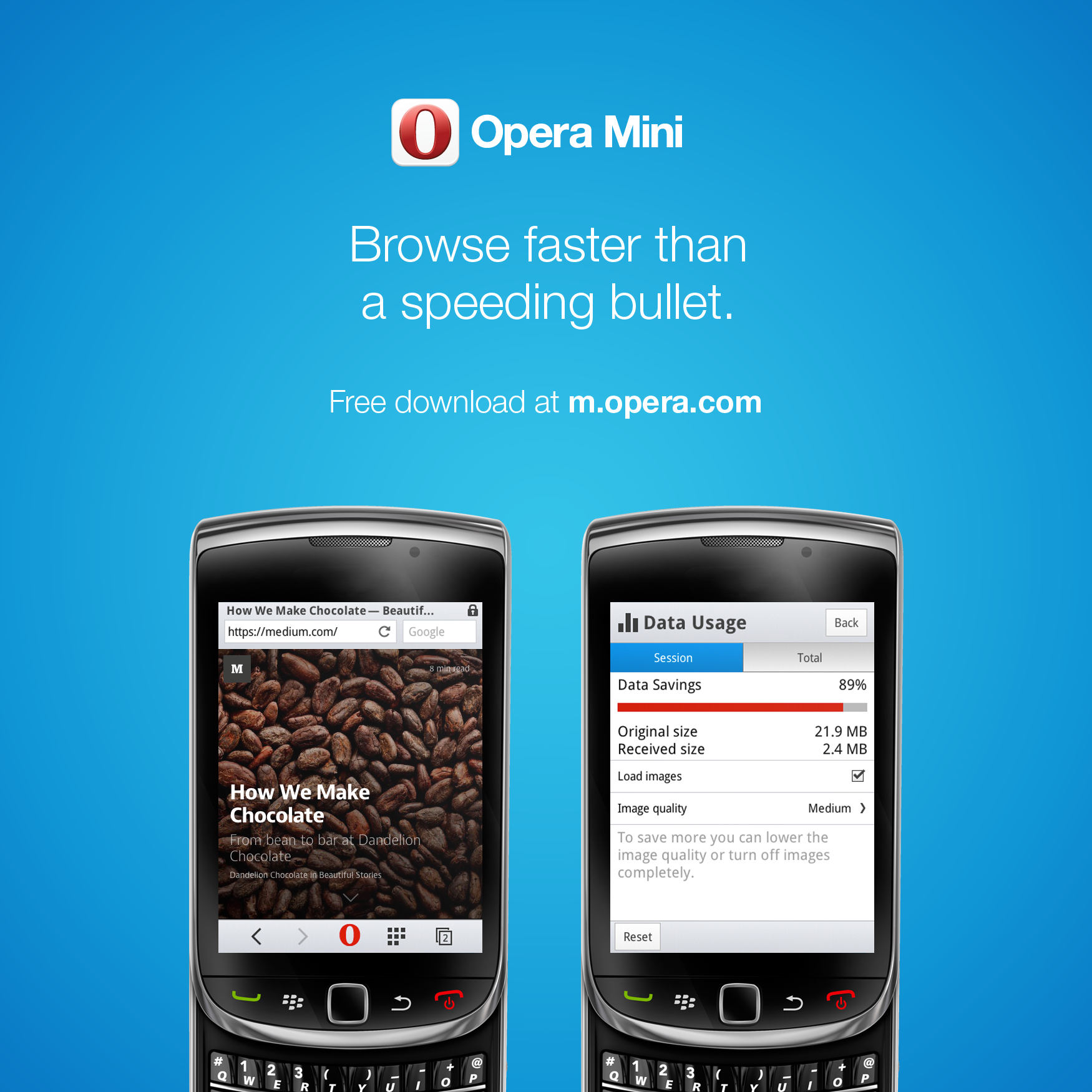 Explore Opera s mobile products