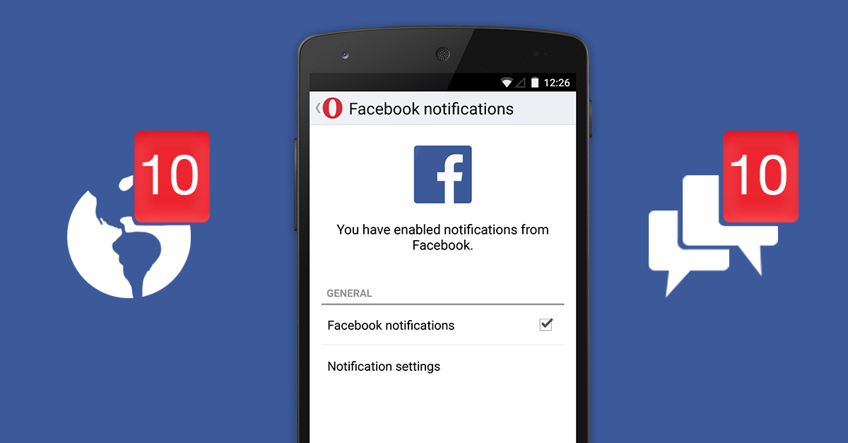 Get more control of social notifications