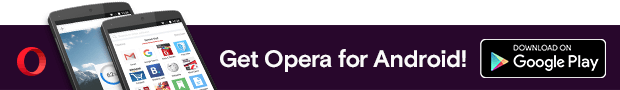 Link to get Opera For Android browser in Google Play