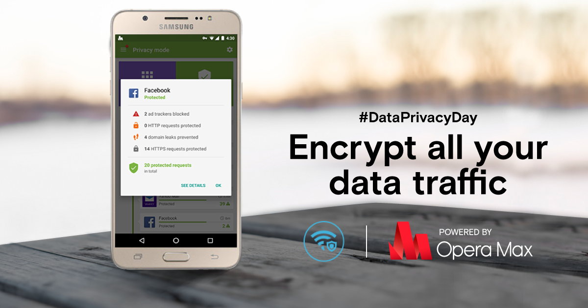 encrypt data opera max