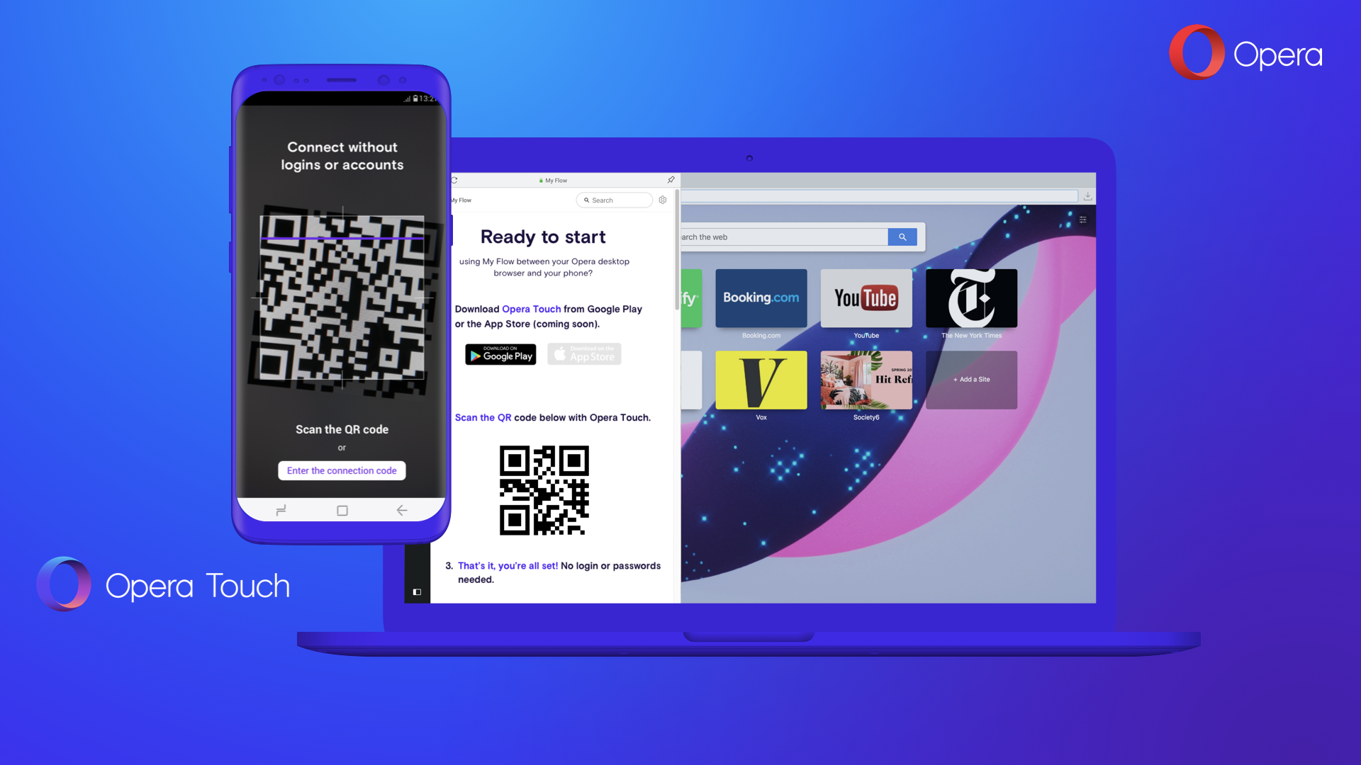 Opera introduces Opera Touch, a cool new mobile browser
