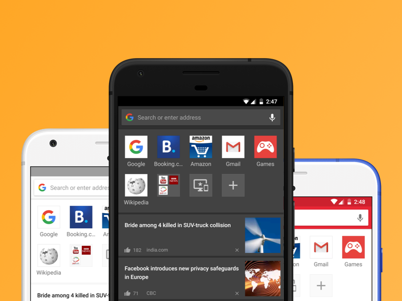 Opera for Android 46 comes with themes and night mode - Blog