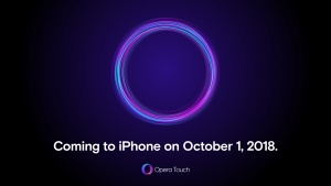 Thumbnail for 'Opera Touch is coming to iPhone on Oct 1. Limited private beta starting today. Gather O-round!'