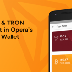 Opera for Android 53 beta crypto wallet with Bitcoin and TRON