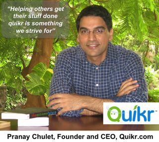 Pranay Chulet Quikr IB