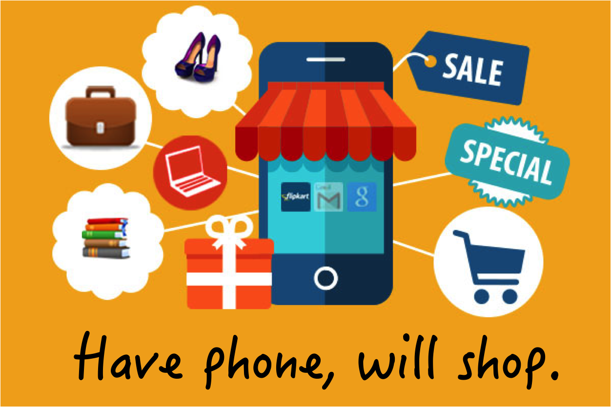 Have phone will shop
