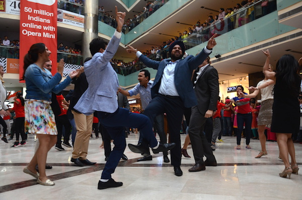 Whats dancing without some Bhangra