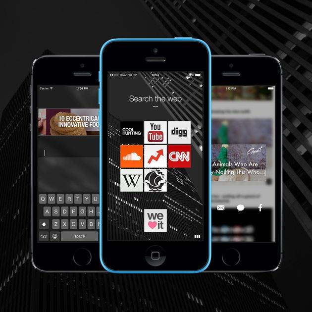 Opera Coast 4.0 for iOS