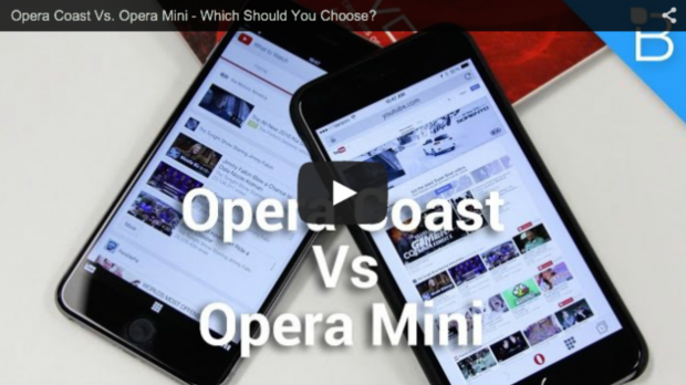Opera Coast vs Opera Mini