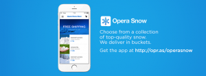 Thumbnail for 'Beat the summer heat with Opera Snow Store'