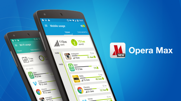 Opera Max for data management