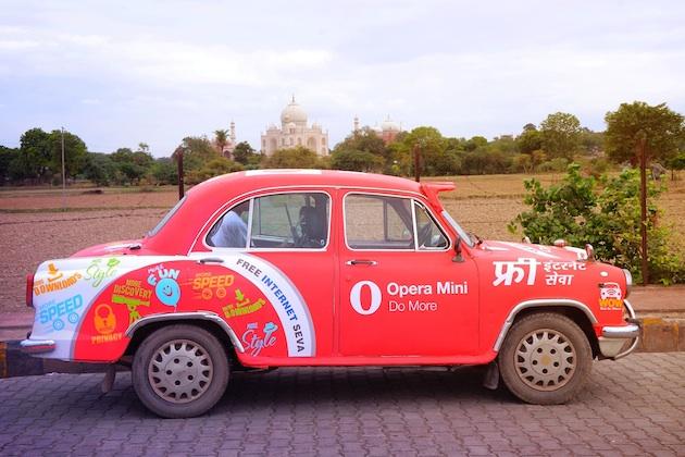 Opera WOW car