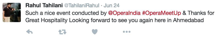 opera meetup feedback