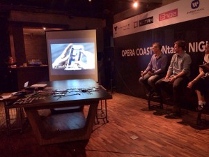 2 - Opera Coast Video Testimonial is played