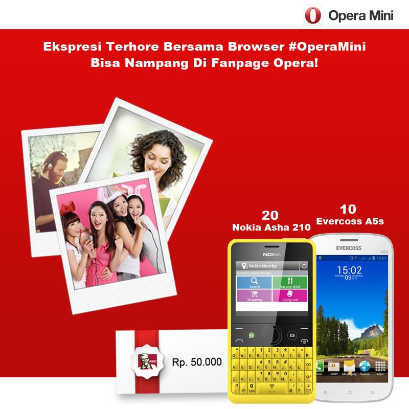 30 juta pengguna Opera Mini