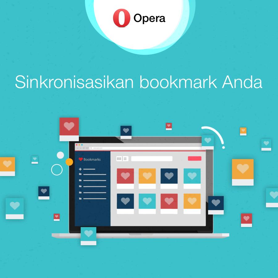 Sinkronisasi Bookmarks