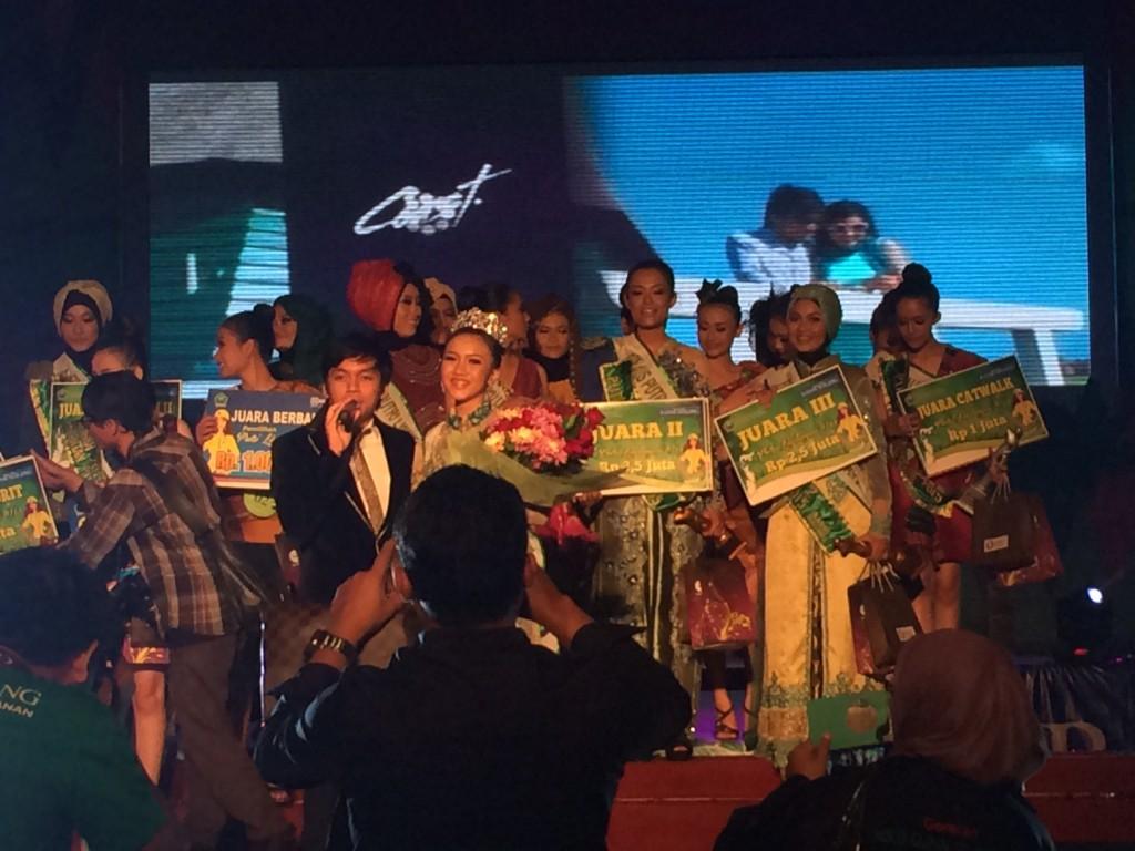 """Lagu """"Ada Untukmu"""" mengiringi penutupan grand final Puteri Lingkungan Kota Malang 2015"""