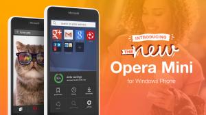 Thumbnail for 'Opera Mini telah tersedia untuk pengguna Windows Phone'