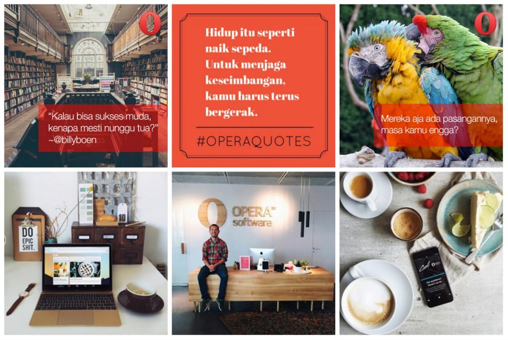 Instagram ekstensi panel samping - blog
