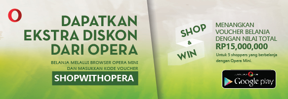 Ekstra diskon Opera di Harboldan