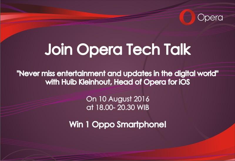 Opera Tech Talk