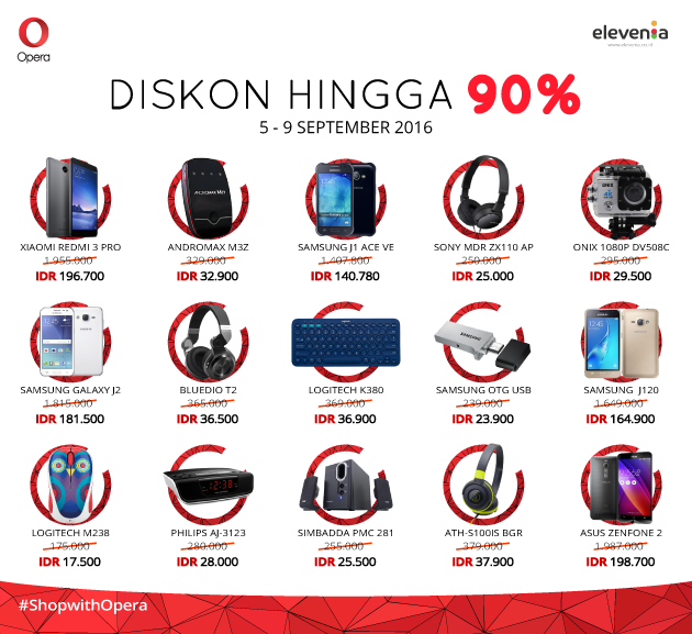 Elevenia Super Sale #ShopWtihOpera
